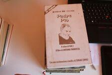 PADRE PIO COFANETTO LIBRO E VHS - NUOVA ERI RAI 2