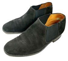 Lovely original Alfred Sargent seville black suede leather Chelsea shoe UK 7