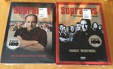 NEW & SEALED * SOPRANOS * COMPLETE FIRST & SECOND SEASON ON DVD