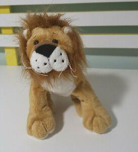 WEBKINZ GANZ LION BEANIE SOFT TOY PLUSH TOY 22CM LONG!