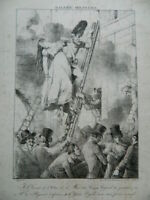 Vafflard Galería Militar Para DE FUEGO De Odeon 20 Mars 1818 Lito Engelmann