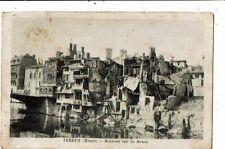 CPA-Carte postale-FRANCE- Verdun- Maisons sur la Meuse -1919-VMO14692