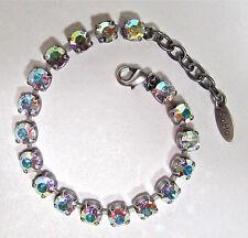SoHo® Armband geschliffene Kristalle 6mm ss29 crystal aurore boreale Regenbogen