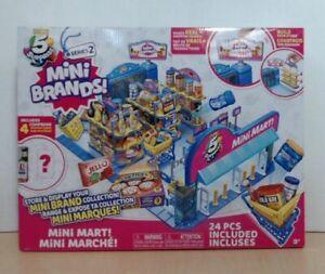 NEW Zuru 5 Surprise Mini Brands Mini Mart w/ 4 Mystery Mini Brands Playset