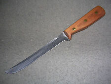 "Beautiful Vintage Chicago Cutlery 66S 8"" Carving Knife! Classic, American-Made!"