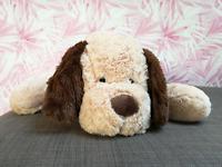 Plüschhund Plüschtier Hund Stofftier Kuscheltier in 3 Größen 53,70,90cm weich XL