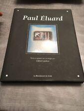 Livre Paul Eluard Texte Et Poème Gabriel Lefebvre