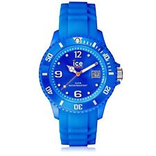 Ice WATCH SI.BE.S.S.09 Small Blue Silicon Forever Watch