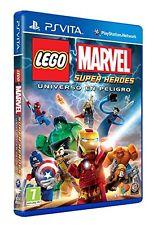 LEGO: Marvel Super Heroes - Universo En Peligro - PS Vita - PAL ESP - NUEVO!!!
