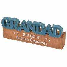 Special Grandad Sentiment Rustic Wooden Freestanding Mantel Plaque X56751