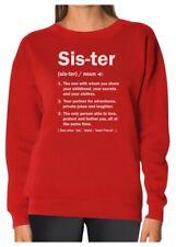 Sister Definition Funny Big Sister Gift Women Sweatshirt