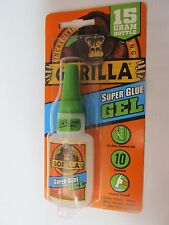 Gorilla Glue Super Glue Gel 15 gram bottle #7600103 New