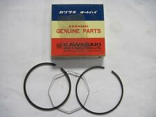 "NEW NOS Kawasaki Piston Ring Set O/S "".040 1.00mm F5 F9 Big Horn 70-75 13024-031"