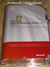 Microsoft Windows Essential Business Server 2008 Standard, Sealed, PN 6XA-00137