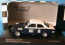FORD ESCORT I TC #79 ROLF STOMMELEN 500KM NURBURGRING 1968 MINICHAMPS 400688179