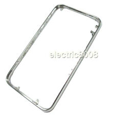 FOR IPHONE 3G/3GS SILVER METAL MIDDLE CHROME BEZEL FRAME REPLACEMENT UK