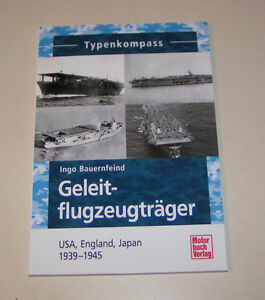 Portaerei USA, Inghilterra, Giappone 1939-45 Typenkompass (i) . Bauernfeind