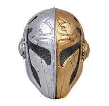 Fabric Plastic Wire Mesh Paintball CS Airsoft Full Face Protection Templar Mask