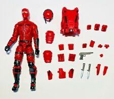 """SPECIAL RED /& BLACK SOLDIER Marauder Task Force RED SHADOW 4/"""" Inch Action Figure"""