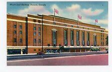 Maple Leaf Gardens—Vintage Nhl Toronto Hockey Stadium Linen Flags 1950s