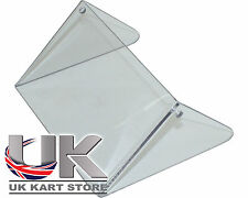 Rotax Max Genuine Transparent 2011 - Current Silver Radiator Flap UK KART STORE