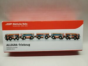 Swiss RhB Rhatische Bahn Allegra-Triebzug Advertising Toy Train (RARE)