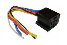 TEMCo 12 V 60 70 80 Amp Bosch Style S Relay Harness Socket Automotive