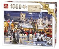 1000 Piece Christmas Collection Jigsaw Puzzle Toy - Winter Fair 55946