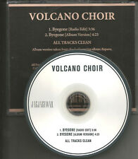 Bon Iver Member VOLCANO CHOIR Byegone w/ RARE RADIO EDIT PROMO DJ CD single 2013