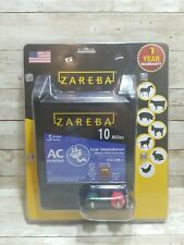 Zareba Energizer Low Impedance 10 Mile Electric Fence Charger Ac Power 115 Volt