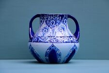 William Moorcroft Florian Ware double Handled vase (100305)