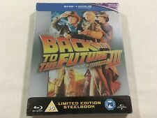 Back to the Future Part 3 (1990) - Limited Edition Steelbook Blu-Ray | New