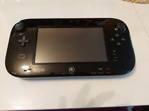 Wii U Gamepad schwarz (Gebrauchsspuren)