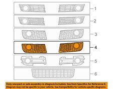 AUDI OEM 04-05 A4 Quattro-Grille-Lower Left 8E0807681D01C