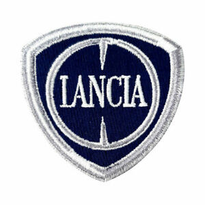 Toppe Patch Lancia Ufficiali Logo 60 mm