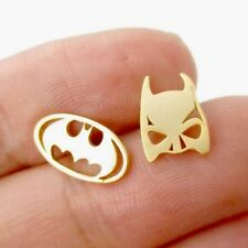 Batman Comics Super Heroes Earrings Jewellery teachers GIFT Bat Mask Halloween E
