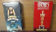 Cinema Paradiso/Oscars Greatest Moments Vhs Lot