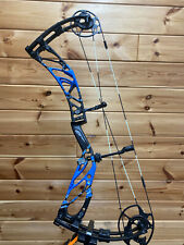 NEW 2020 Elite Archery KURE RH 60# BLACK BLUE Bow Hunting Compound ADJUSTABLE
