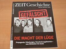 """DIE ZEIT GESCHICHTE """"GEFÄLSCHT DIE MACHT DER LÜGE"""" Ausgabe 3/2017!"""