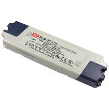 MEANWELL PLM-25-500 25W LED-Schaltnetzteil 30V-50V 500mA Konstantstrom 856533