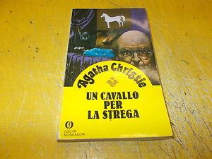 AGATHA CHRISTIE UN CAVALLO PER LA STREGA.OSCAR GIALLI MONDADORI 107 1634 OTTIMO!