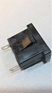 Snap in female AC outlet socket receptacles 2 Lug panel mount 125V 15A  Lot of 2