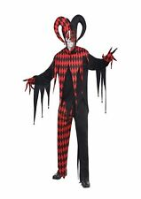 Amscan International Adults Krazed Jester Clown Costume - Standard Size