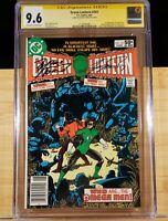 Green Lantern 141 CGC SS 9.6 Signed Perez & Wolfman 1981 1st Omega Men