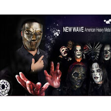 Halloween Mascarada terror Resina Prop miedo Slipknot pieza facial humana