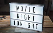 Cinematic Light Up Box Letters Symbols Wedding Party Decoration Gift A6 LED Sign