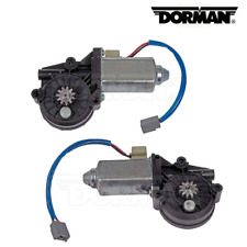 For Ford F-150 Pair Set of Rear Left and Right Power Window Motor Dorman