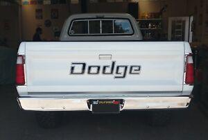1969-84 DODGE RAM TAILGATE VINYL DECAL STICKER TRUCK LETTERING