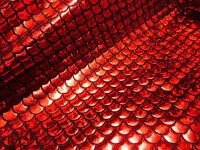 Sirena Escala Tela Pez Cola Material -2 Con Elástico Spandex -145cm Ancho / Rojo