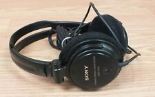 Genuine Sony (MDR-V150) Solid Black Studio Monitor Corded Headphones Only *READ*